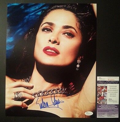 1050aa2aed SALMA HAYEK Authentic Hand-Signed