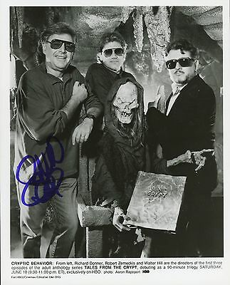 """RICHARD DONNER Authentic Hand-Signed """"TALES FROM THE CRYPT"""" 8x10 Press Photo"""