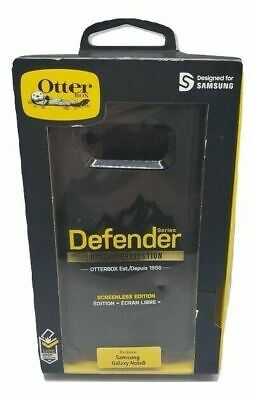 Original Otterbox Defender Series case W/ Holster Samsung Galaxy Note 8 - Black