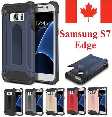 For Samsung Galaxy S7 Edge Case - Heavy Duty Hybrid Shockproof Armor Cover