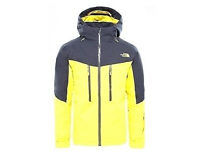 Giacca Sci Uomo The North Face Inverno 3Bz4W8B Chakal Jkt Acid Yellow d73890f4dece