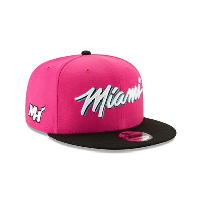 huge selection of 42286 4a252 Miami Heat Vice New Era 9FIFTY NBA Earned Edition Snapback Cap South Beach  Hat