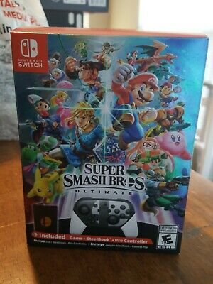 Super Smash Bros Ultimate Special Edition - Nintendo Switch Nice Box!!!