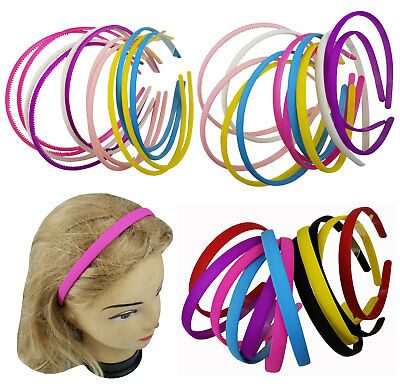 "12 PCS Color Assorted  Headband for Women Girls Hairbands 0.2"" 0.3"" 0.4"""
