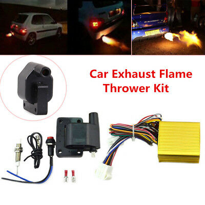 Car Auto Exhaust Flame Thrower Kit Professional for Fire Burner Accessories Set