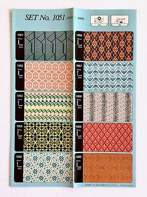 Toyota PRE-PUNCHCARDS - SET 1051 FairIsle **NEW** 10 Cards NO.1051-1060