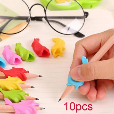 10pcs Kids Pencil Holder Correction Kids Writing Hold Pen Grip Posture Tools
