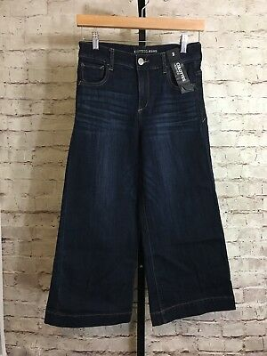 Express Jeans - Women's Crop High Rise Culottes - Tag Size 2 NWT $69