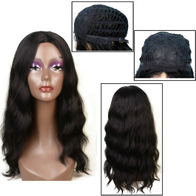 4 Colors 22'' Synthetic Nature Curly Weavy Wigs For Black Women for a Full Head