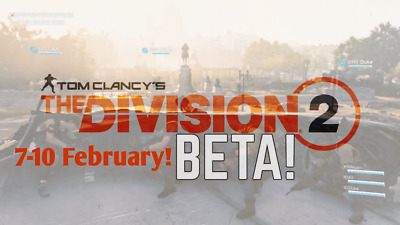 The Division 2 PRIVATE-BETA + FREE Bonus Content (PS4/XBOX/PC) WORLDWIDE