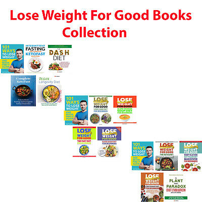 Lose Weight For Good collection 5 books set 101 Ways to Keto Fast NEW Paperback