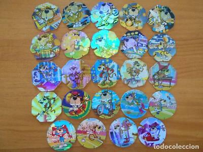 Lote 24 Tazos Flash Y Super Tazos Flash - Sin Repetidos - Matutano (R2)