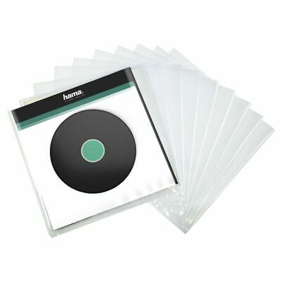 "10 x Hama 12"" LP Vinyl Record Plastic Outer Sleeves Heavy Duty - BRAND NEW"