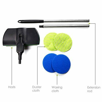 Rechargeable 360° Rotation Cordless Floor Cleaner Scrubber Handheld Mop