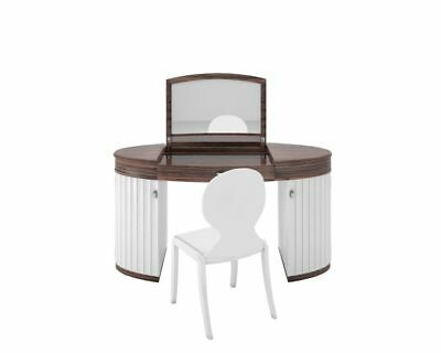 White Glossy Design Dressing Table Set 8 500 00 Picclick Uk