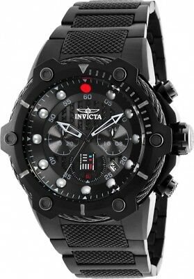 Invicta 26207 Star Wars Darth Vader Men's Chronograph 51.5mm All Black Watch