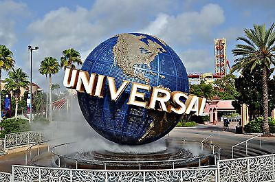 2Universal Studios ONE DAY BASE for only $54Ea. Must complete a timeshare tour.