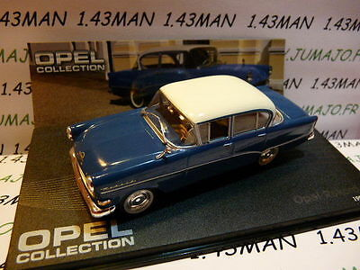 OPE81R voiture 1/43 IXO eagle moss OPEL collection : Olympia rekord PI 1957/1960