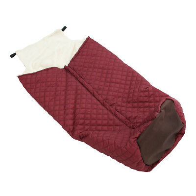 Plush Fleece Lining Wheelchair Warmer Cover Blanket Leg Foot Bag for Adults