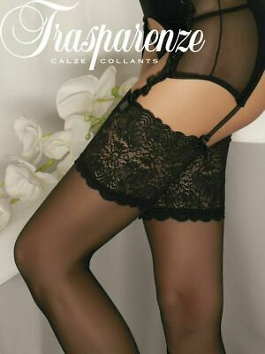 Trasparenze Eleonora 30 Denier Lace Top Garter Stockings