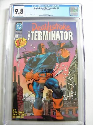Deathstroke: the Terminator #1 CGC 9.8 DC 1991 Comic