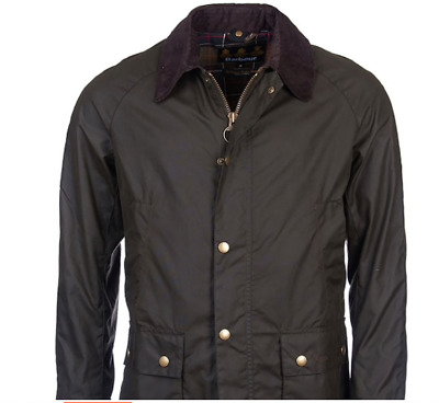 Barbour Ashby Jacket Color Olive Green Bacps0819 Modernist Style Factory
