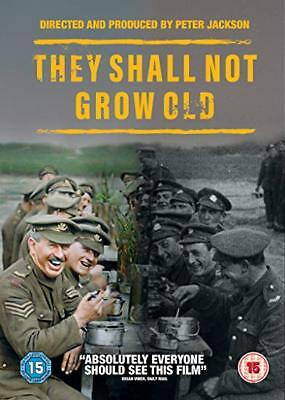 """they Shall Not Grow Old"" Dvd Pre Sale Free Shipping  Factory Sealed"