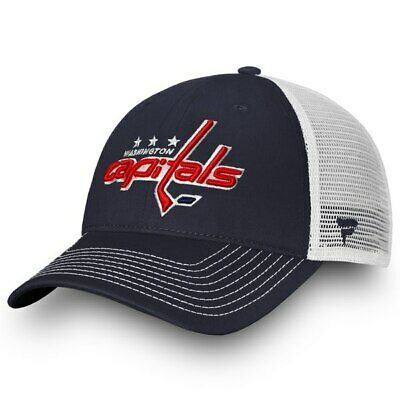 46125d965db Washington Capitals Fanatics Adjustable Snapback Hat NHL Hockey Dad Cap Mesh