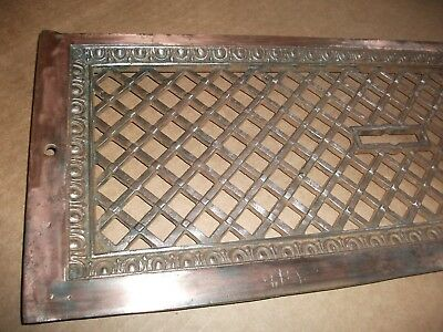 LOTS of Copper++ Cast/Bronze/Brass Fireplace Architectural Salvage 8 x 20++