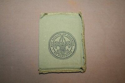Vintage Boy Scouts Official Signal Mirror in Original Bag and Instructions