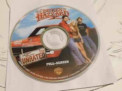 The Dukes of Hazzard (DVD, 2005, Unrated, Full Frame Edition)Disc Only 66-270