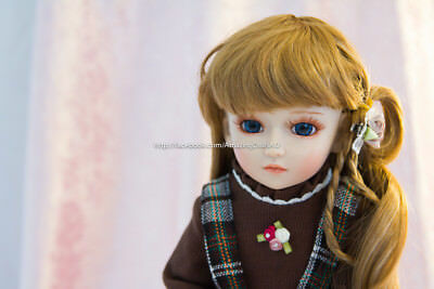 "SD/BJD Doll Beautiful Long Hair 18"" (45 cm) Fully Posable Easter Bunny Edition"