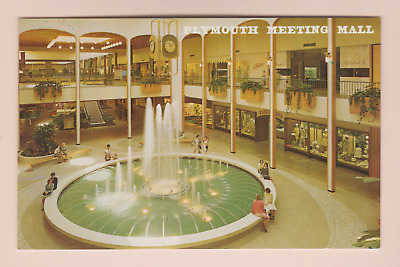 Postcard Plymouth Meeting Shopping Center - Mall - Philadelphia Penn 2Fifty Sale