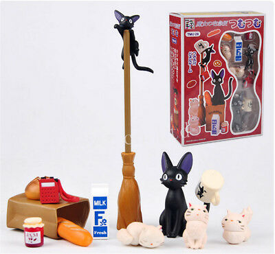 Studio Ghibli Kiki's Delivery Service Black Cat PVC Figure Toy Collectible