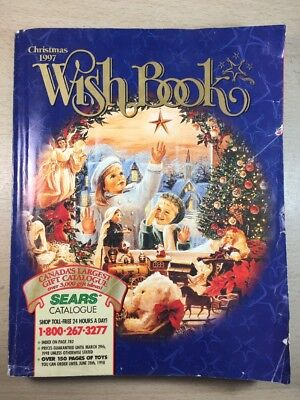 Sears Wishbook Cataloge 1997 Christmas Toys Magazine Shopping Ordering Reference
