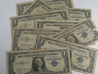 9 *STAR* $1.00 Silver Certificate Notes: 1957 & 1957-A.  #15