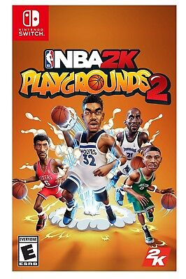 Nba 2K Playgrounds 2 * Nintendo Switch * Brand New Factory Sealed!
