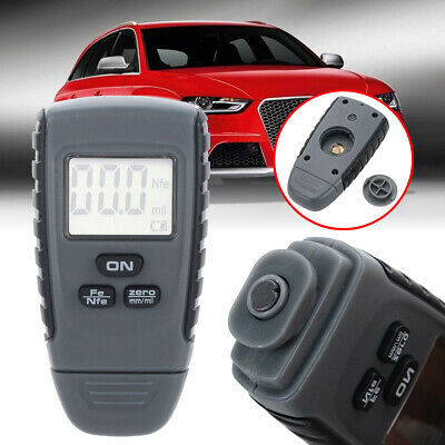 RM660 LCD Digital Painting Thickness Meter Car Coating Gauge Tester Kit 0-50 mil