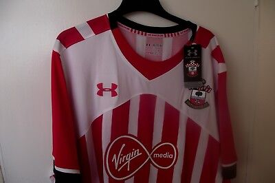 accec08af Southampton FC Home Football Shirt size:4XL Under armour BNWT
