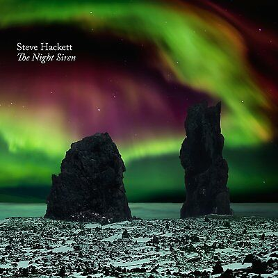 STEVE HACKETT of GENESIS  New Sealed NIGHT SIREN BLU RAY & CD SET
