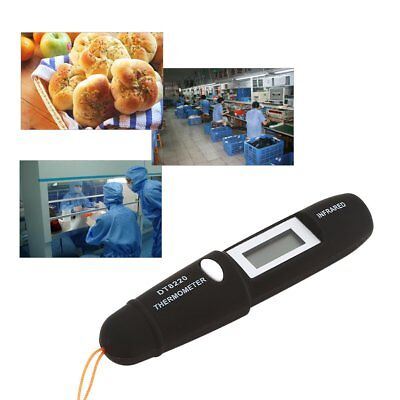 DT8220 Digital Handheld LCD Infrared Thermometer Temperature Pen Non Contact 9G