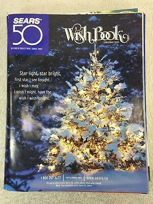 Sears Wishbook Cataloge 2003 Christmas Toys Magazine Shopping Ordering Reference