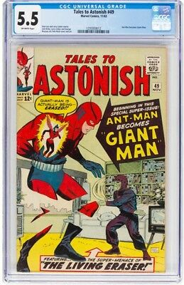 tales to astonish 49 first giant man cgc 5.5
