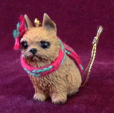 Brussels Griffon (Red) Christmas Ornament for Red Leash Rescue fire sale!