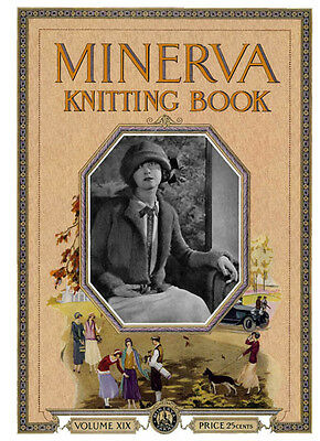 Minerva #19 c.1924 Vintage Style Knitting & Crochet Patterns for Whole Family
