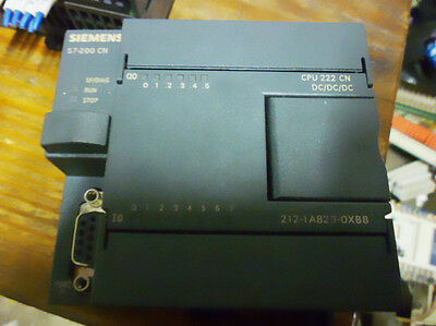 1PC used Siemens PLC CPU222CN 212-1AB23-OXB8 Tested It In Good Condition