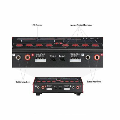 Ultra Power UP 240 AC DUO 240W 2in1 Battery RC Balance Charger Discharger LC