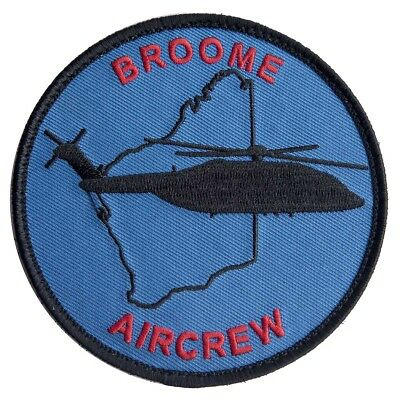 Broome Aircrew S92 Embroidered Flight Patch - New