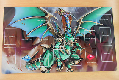 G047+ Free Mat Bag Yugioh Playmat Chaos Emperor Dragon Envoy of the End Zones