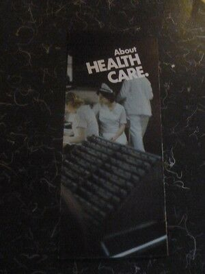 Richard Nixon Campaign Presidential Brochure 1972 Official Health Care Doctor